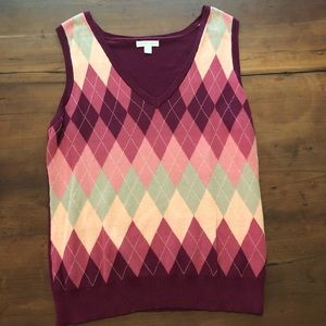 Ladies sweater vest